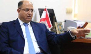 وزير الزراعة اللبناني حسن اللقيس (جريدة الأخبار)