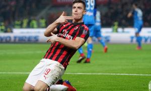 مهاجم نادي ميلان الإيطالي كريستوف بيونتيك (موقع ميلان)