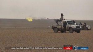 تقرير مصور للاشتباكات بين مقاتلي تنظيم الدولة وقسد في الباغوز شرق الفرات 16 آذار 2019 (ناشر نيوز)