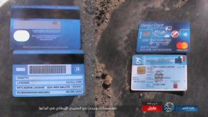 وثائق لشخص ايطالي قتله تنظيم الدولة في صفوف قسد ببلدة الباغوز شرق الفرات 18 آذار 2019 (أعماق)