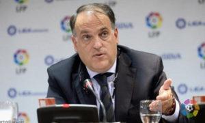 رئيس الاتحاد الإسباني لكرة القدم، خافير تيباس- (لا ليغا)