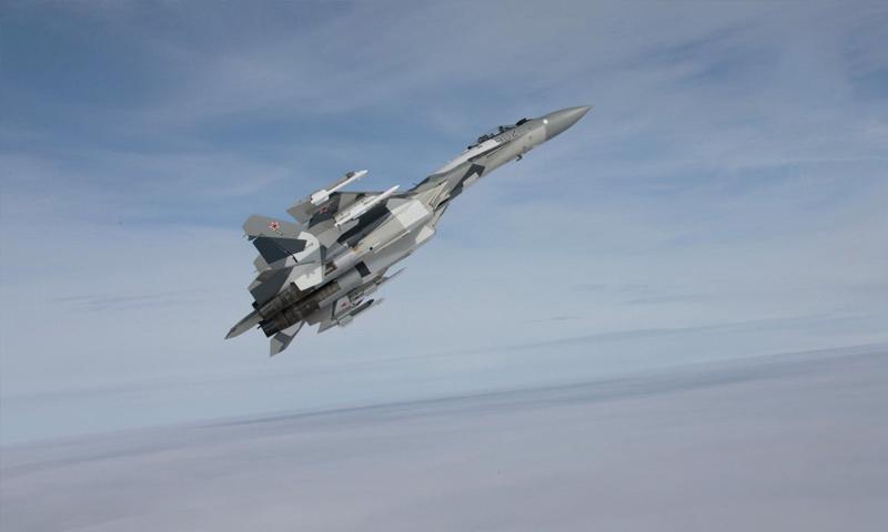 طائرة حربية روسية - (سبوتنيك)