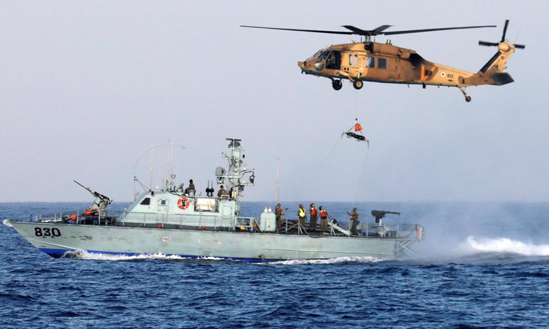 قوات البحرية في الجيش الإسرائيلي (رويترز)