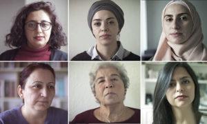 """نساء سوريات في حملة منظمة العفو الدولية """"نساء سوريا: نستحق، نستطيع، نحقق"""" - 8 آذار 2019 (منظمة العفو الدولية)"""