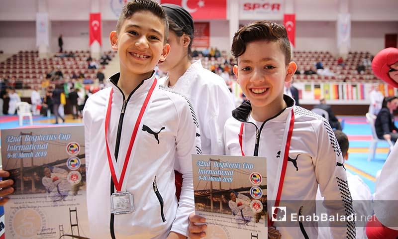 """ناشئون سوريون شاركوا في بطولة """"البوسفور"""" الدولية في تركيا - 10 آذار 2019 (عنب بلدي)"""