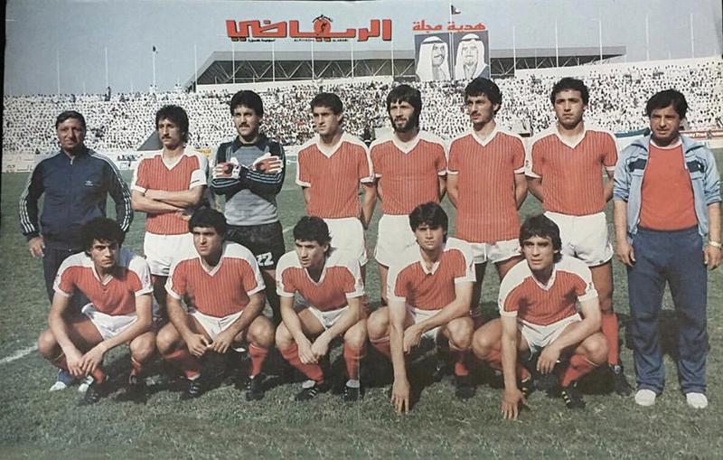 منتخب سوريا 1985 (انترنت)