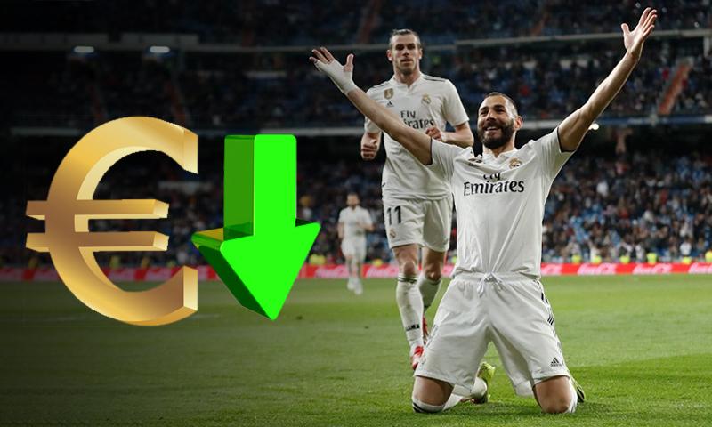 كريم بنزيما وغاريث يحتفلان بتسجيل هدف في شباك هويسكا بالدوري الإسباني (ريال مدريد تعديل عنب بلدي)