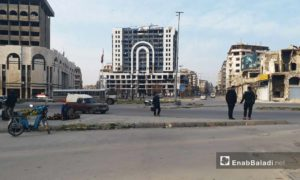 مجمع سيتي سنتر وسط مدينة حمص – 24 من كانون الثاني 2019 (عنب بلدي)