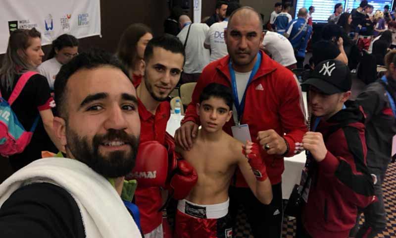 انسحاب لاعب سوري من منافسات بطولة تركيا المفتوحة بعد مواجهة لاعب إسرائيلي (الهيئة السورية للرياضة والشباب)
