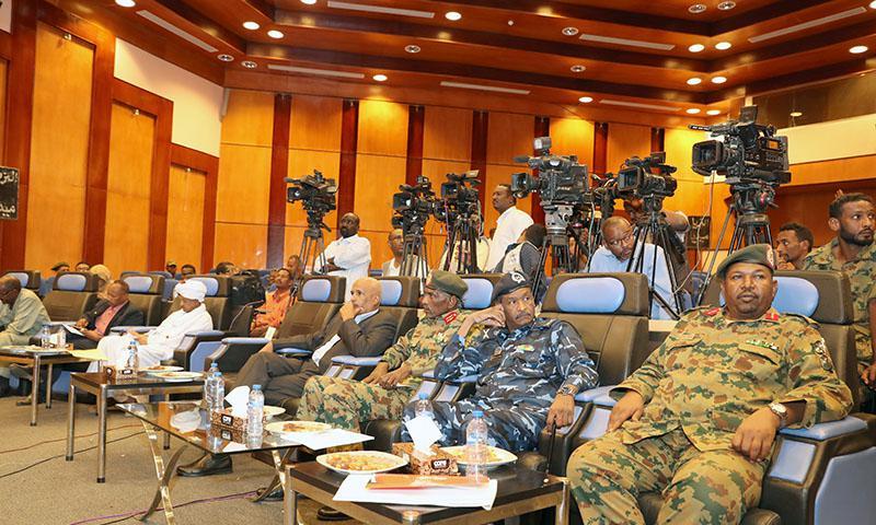 اللجنة السياسية للمجلس العسكري الأعلى في السودان (سونا)