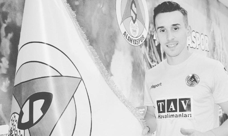 لاعب نادي آلانيا سبور التركي، التشيكي جوزيف سورال (نادي آلانيا سبور تويتر)