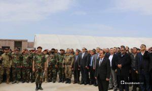 افتتاح مكتب للائتلاف الوطني السوري لقوى الثورة في ريف حلب- 24 من نيسان 2019 (عنب بلدي)