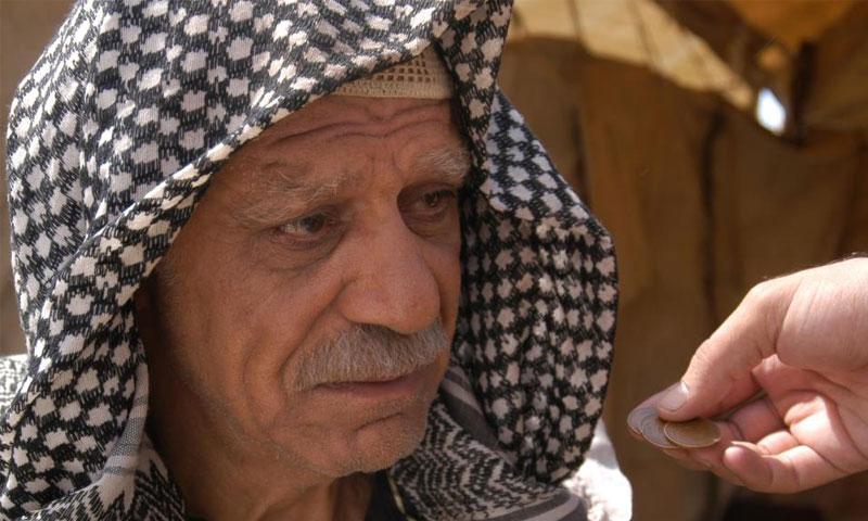 خالد تاجا في دور أبو أحمد في التغريبة الفلسطينية