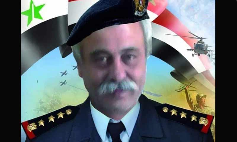 العميد الطيار في صفوف قوات الأسد شاكر درويش من مدينة جبلة (شبكة أخبار اللاذقية)