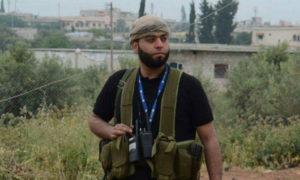 """القيادي السابق بجيش """"المعتز بالله"""" التابع للجيش الحر، محمد نور زيد البردان (أنور البردان على فيس بوك)"""