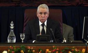 عبد القادر بن صالح (AFP)
