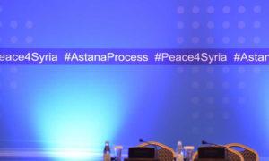 """تحضيرات للعملية السياسية """"أستانة"""" في العاصمة الكازخستانية، نور سلطان (وزارة الخارجية الكازخستانية)"""