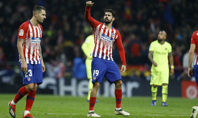 مهاجم نادي أتلتيكو مدريد دييغو كوستا (Ángel Rivero MARCA)