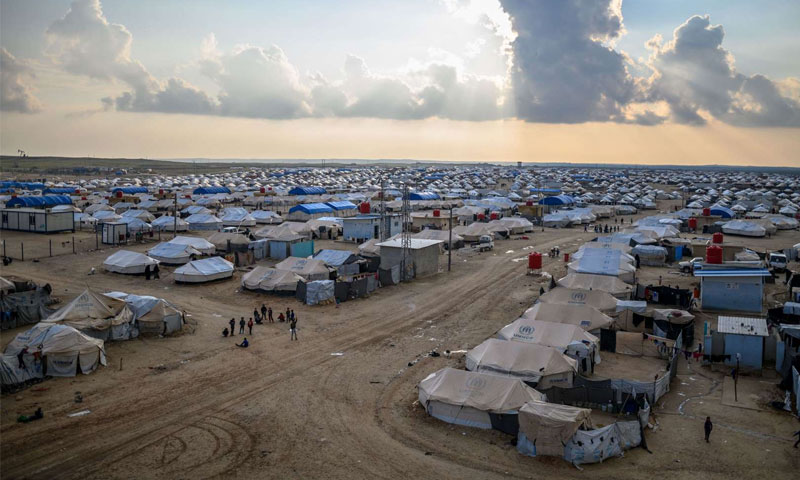 مخيم الهول (AFP)