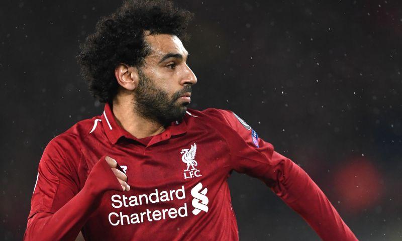 لاعب نادي ليفربول، المصري محمد صلاح (موفع ليفربول الرسمي)