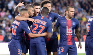 باريس سان جيرمان يهزم موناكو بثلاثية ويتوج بلقب الدوري الفرنسي- الأحد 21 من نيسان 2019 (باريس سان جيرمان تويتر)