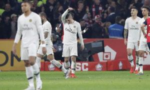 نادي باريس سان جيرمان يتلقى خسارة مذلة من ثاني الترتيب ليل (AP)