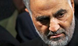 قاسم سليماني في طهران - 5 نشرين الثاني 2014 (AP)