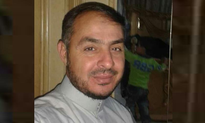 إمام وخطيب مسجد الحراك بريف درعا، رائد الحريري - (فيس بوك)