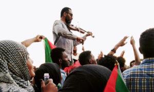 المظاهرات السودانية - نيسان 2019 (تجمع المهنيين السودانيين)