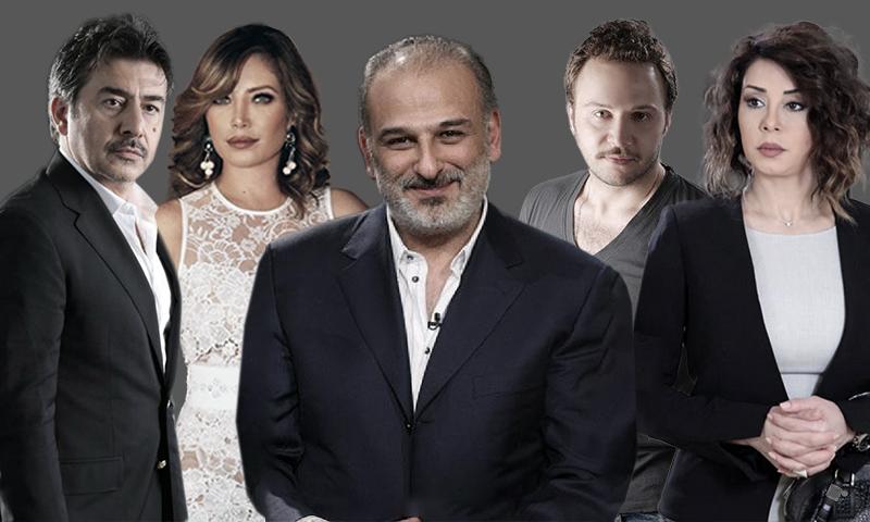 نجوم سوريون يشاركون في أعمال رمضان 2019 (تعديل عنب بلدي)