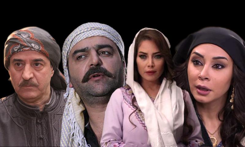 بعض أبطال مسلسلات الدراما الشامية لعام 2019 (تعديل عنب بلدي)