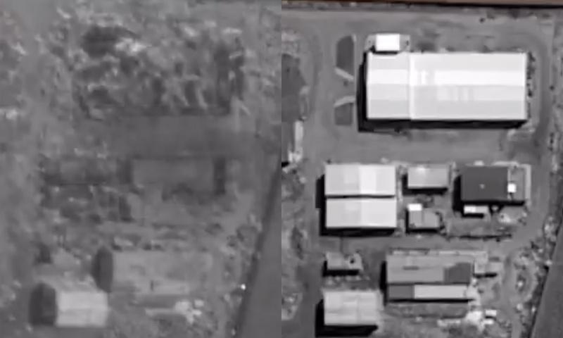 المواقع العسكرية التي استهدفتها إسرائيل في مصياف - (isi)