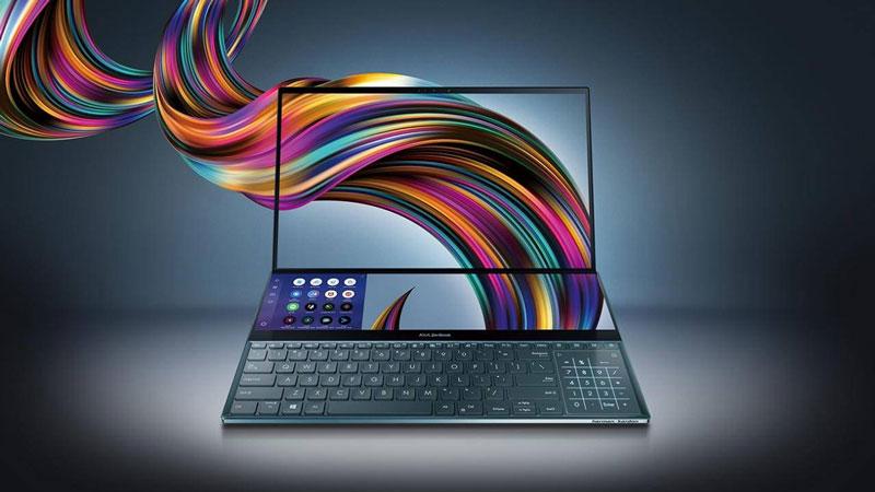 كومبيوتر اسوس الجديد ZENBOOK-PRO 27 أيار 2019 (إنترنت)