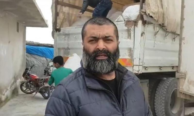محمد شاكيل شابير عامل إغاثة بريطاني في إدلب - (MEE)