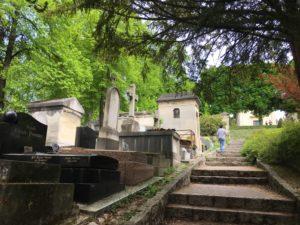 مقبرة بير لاشيز في باريس - نيسان 2019 (تصوير رويدة كنعان)