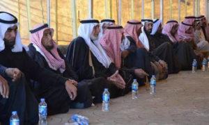 اجتماع التحالف الدولي مع ذوي ضحايا قتلتهم قسد في ريف دير الزور - 18 من ايار 2019 (شبكة دير الزور 24)