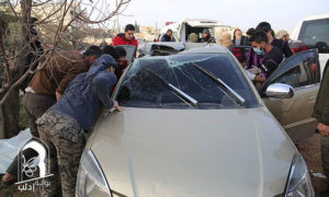مقتل أبو الخير المصري في إدلب - 27 شباط 2017 (انترنيت)