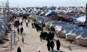 مخيم الهول شرقي الحسكة - 1 نيسان 2019 (رويترز)