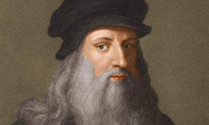 رسمة للفنان والعالم الإيطالي ليوناردو دافنشي