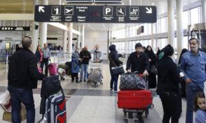مطار رفيق الحريري الدولي في بيروت (AFP)
