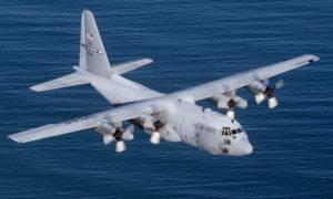 """طائرة """"C-130H"""" من إنتاج شركة لوكهيد الأمريكية (Wikipedia)"""