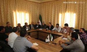اجتماع الهيئة السياسية للائتلاف السوري المعارض في ريف حلب - 16 من أيار 2019 (الائتلاف السوري)