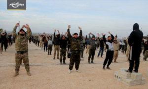 """تدريبات فصيل """"جيش الإسلام"""" بريف حلب الشمالي (جيش الإسلام تلغرام)"""