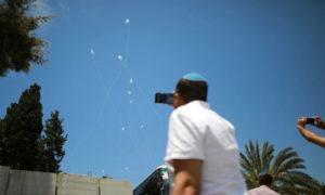 رشقة قذائف من قطاع غزة باتجاه جنوب إسرائيل - 5 أيار 2019 (هآرتس)