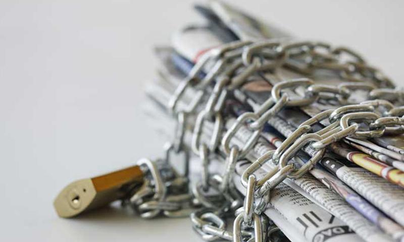سوريا في المركز السابع ما قبل الأخير في التصنيف العالمي لحرية الصحافة-صورة تعبيرية (الشبكة السورية لحقوق الإنسان)