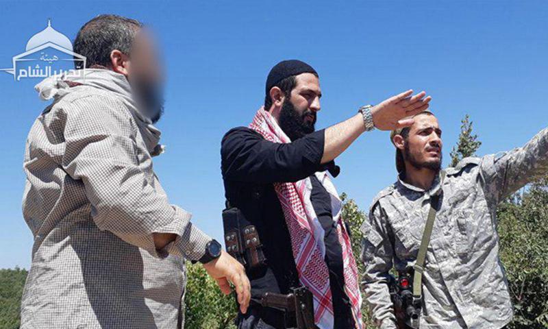 قائد تحرير الشام أبو محمد الجولاني في جولة تفقدية في ريف اللاذقية الشمالي – 21 من آب 2018 (تحرير الشام)
