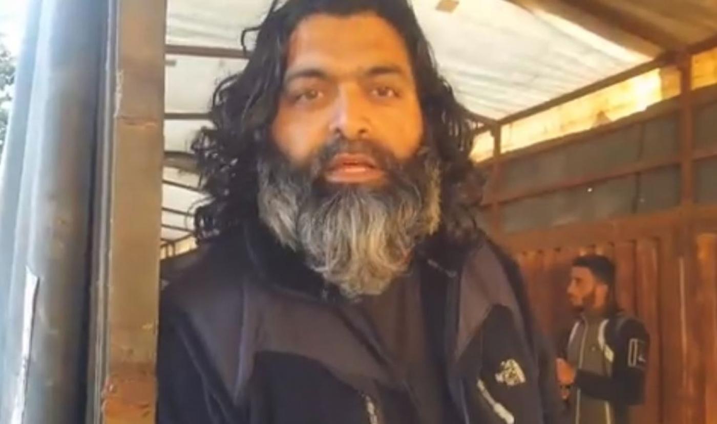 محمد شاكيل شابير المقيم في محافظة إدلب (MME)