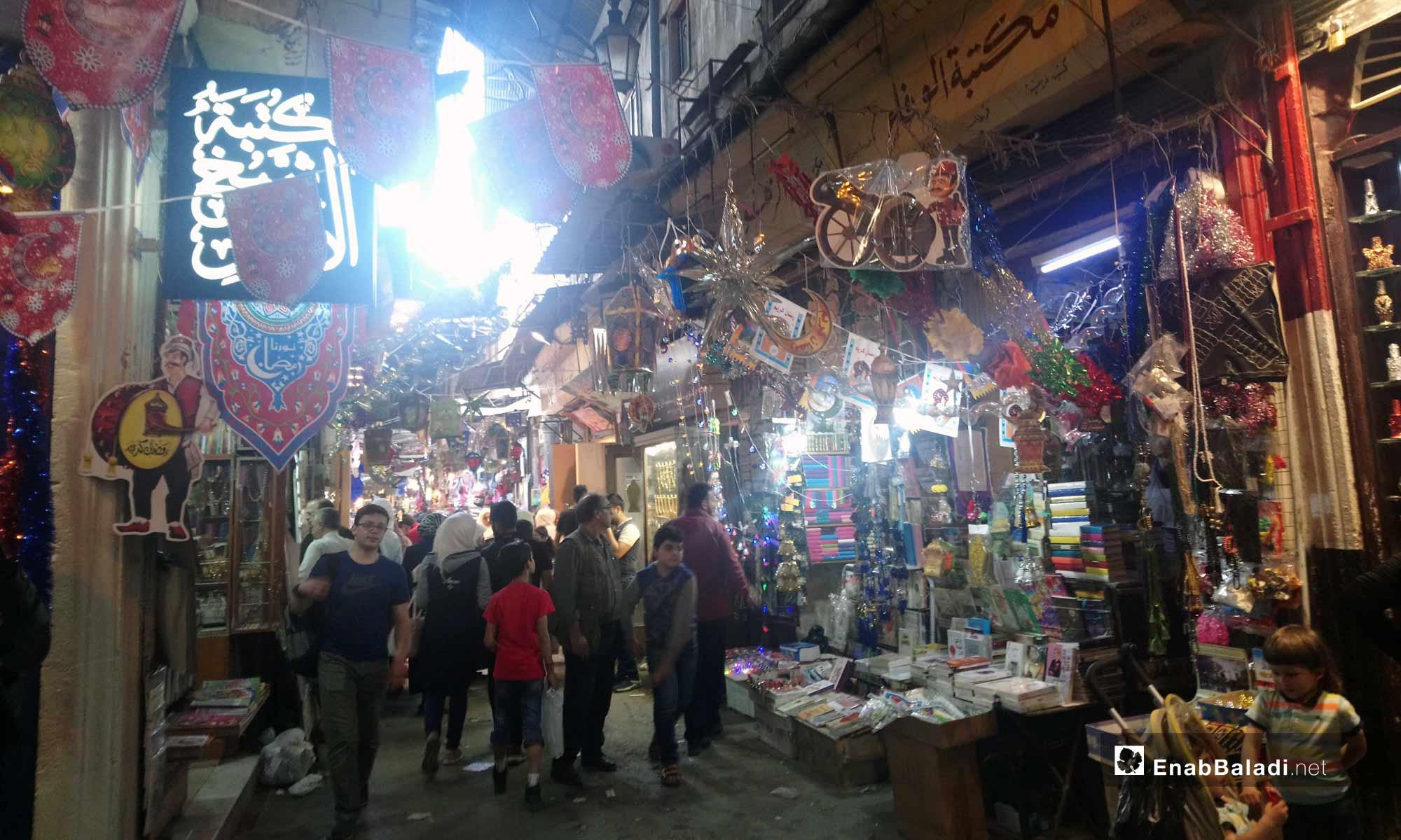 أسواق دمشق - 5 من آيار 2019 (عنب بلدي)