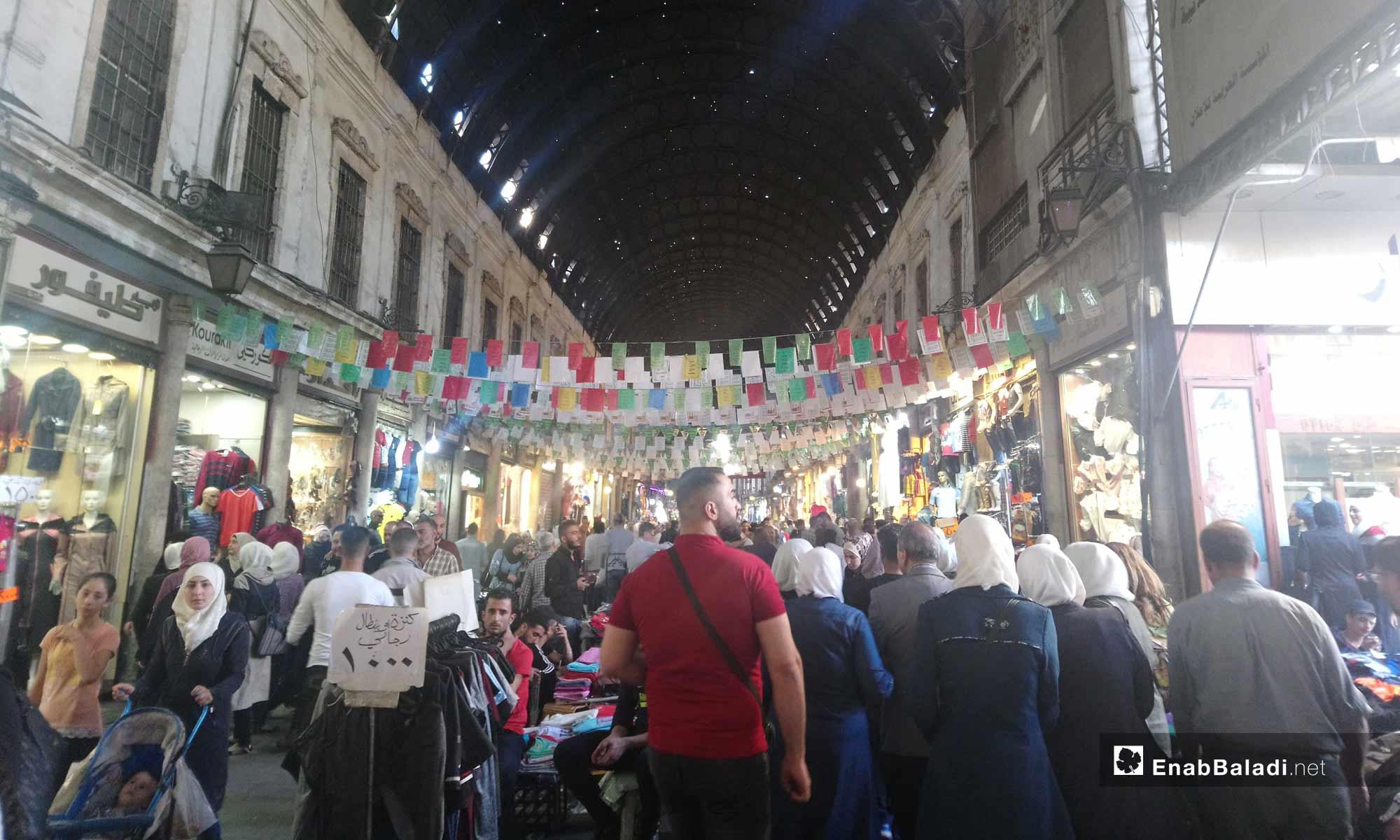 أجواء رمضان في أسواق دمشق - 5 من آيار 2019 (عنب بلدي)