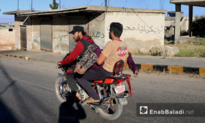 آثار استهداف الطيران لبلدة سفوهن في ريف إدلب الجنوبي – 26 أيار 2019 (عنب بلدي)